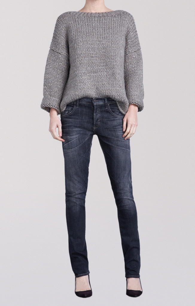 emerson long slim fit boyfriend reflektor front