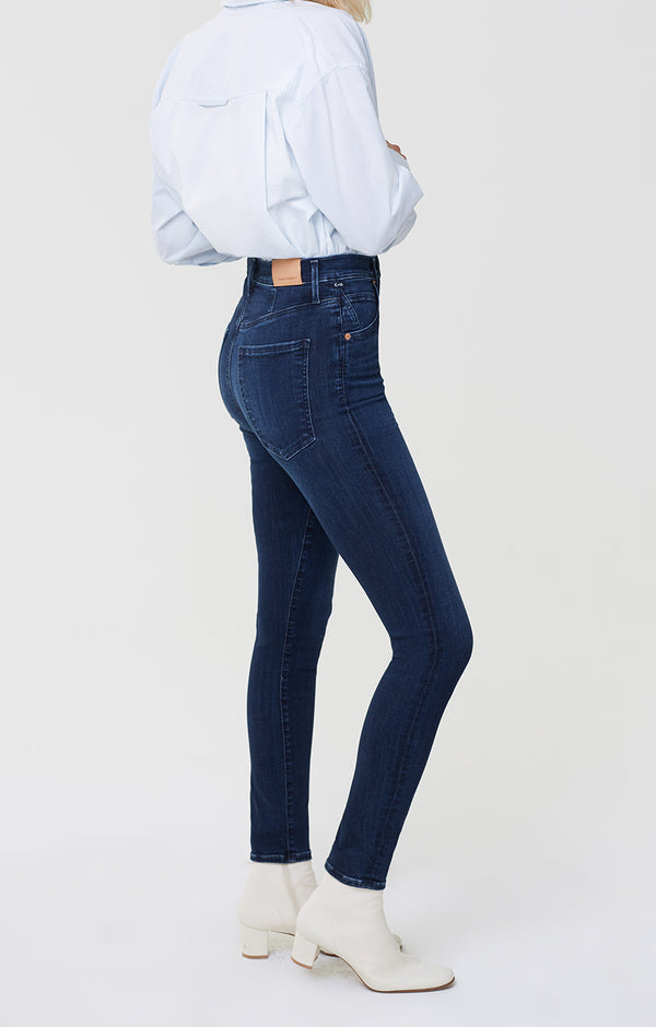 Chrissy High Rise Skinny Fit Serona side