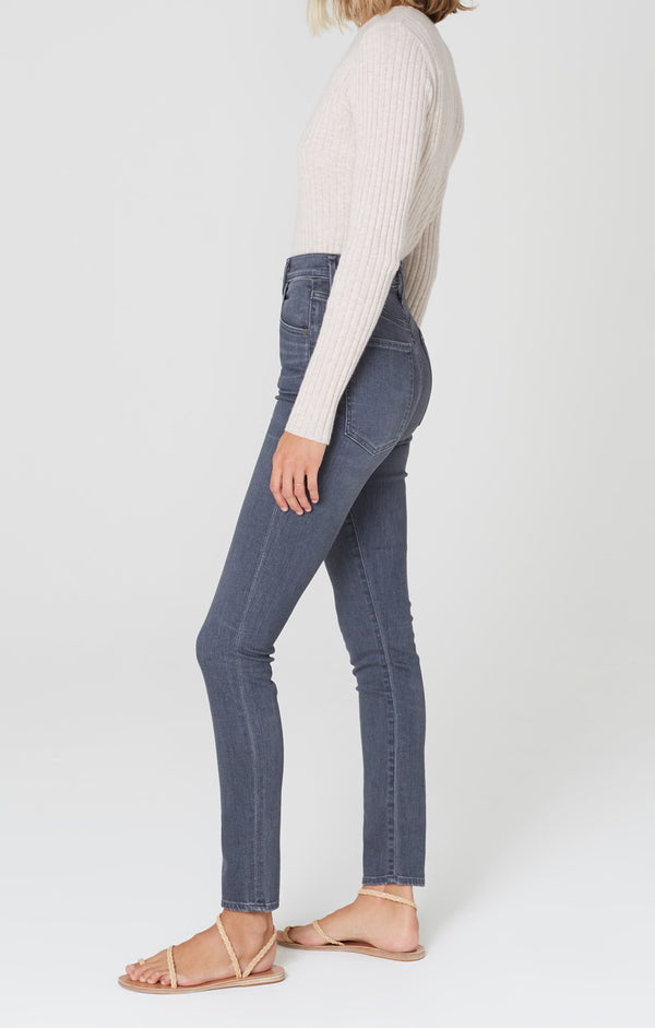 Chrissy High Rise Skinny Fit Moondance side