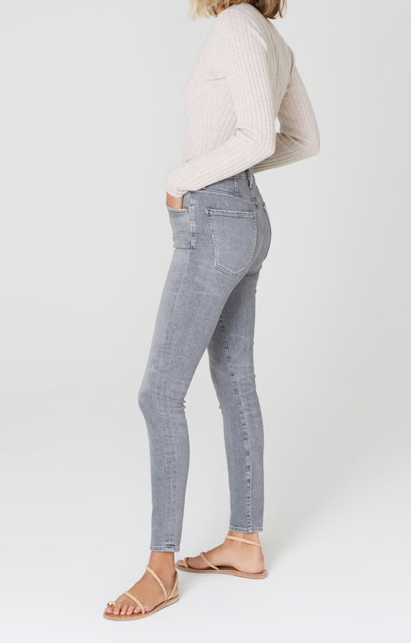 Chrissy High Rise Skinny Fit Cosmic side