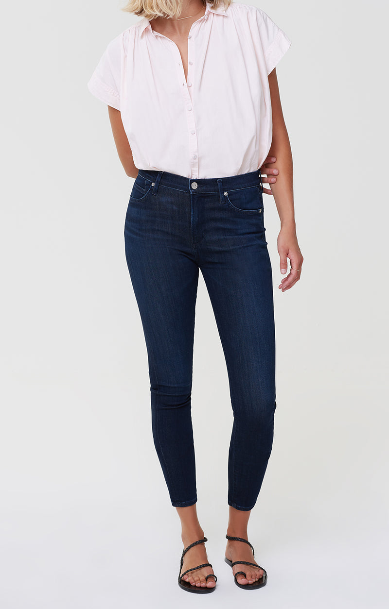 Rocket Ankle Mid Rise Skinny Timeless front