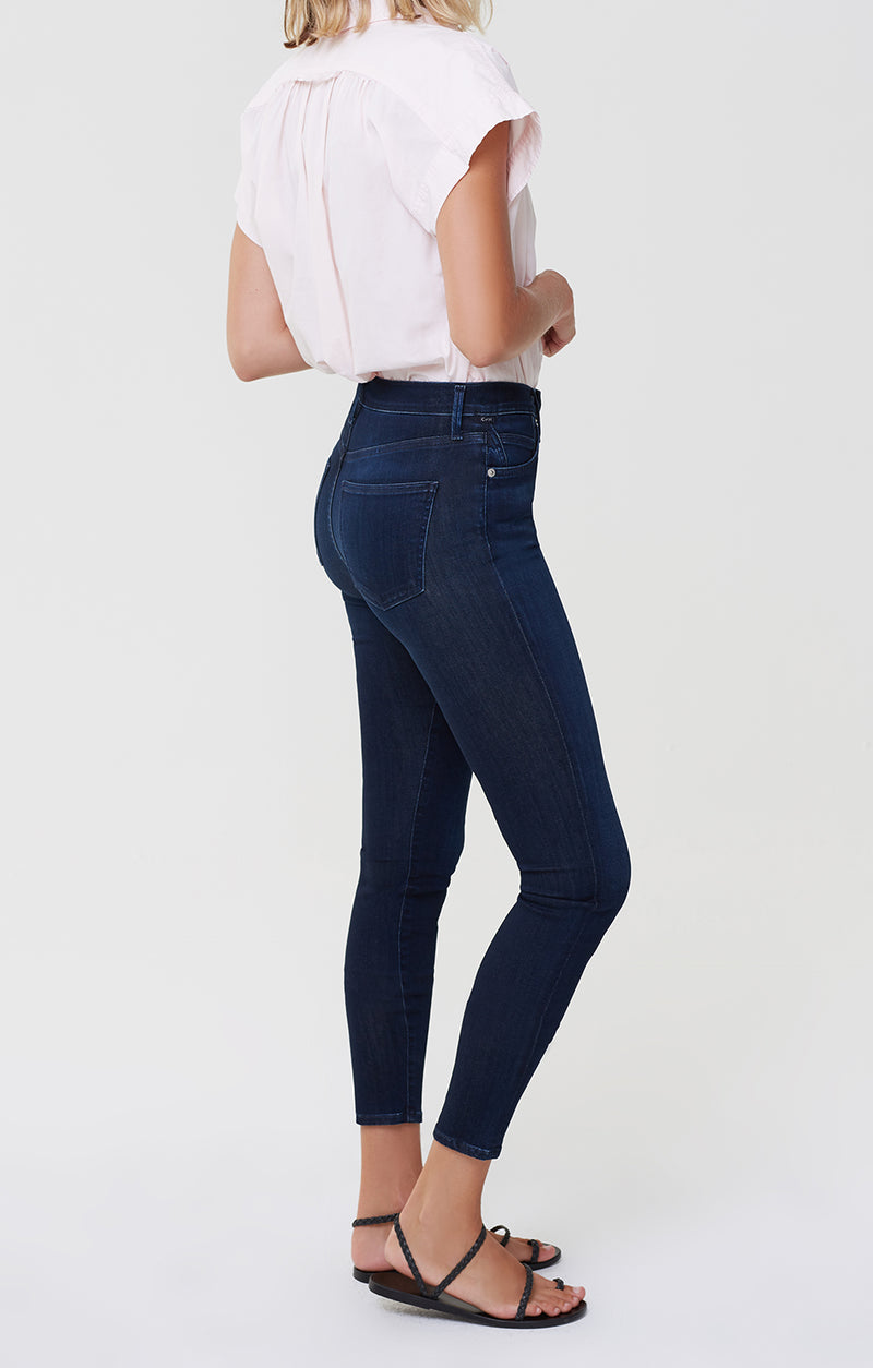 Rocket Ankle Mid Rise Skinny Timeless side