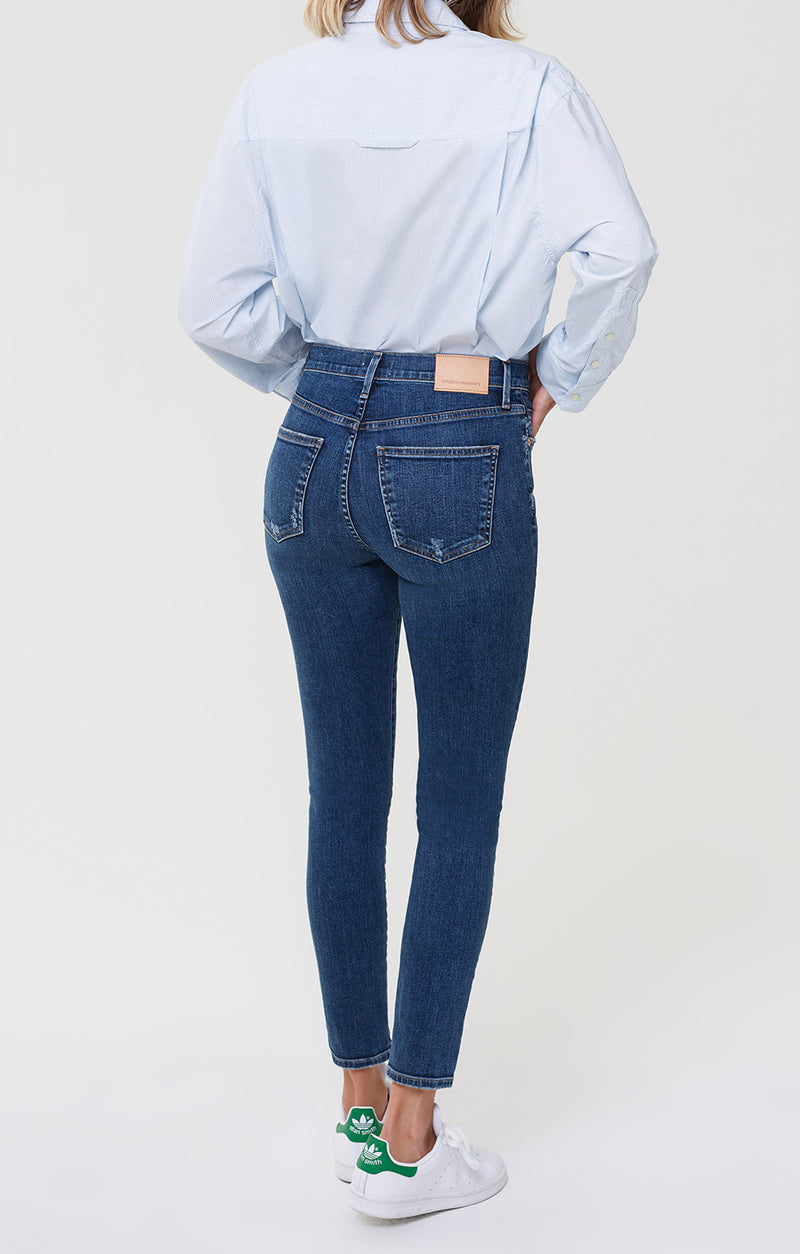 Rocket Ankle Mid Rise Skinny Charisma back