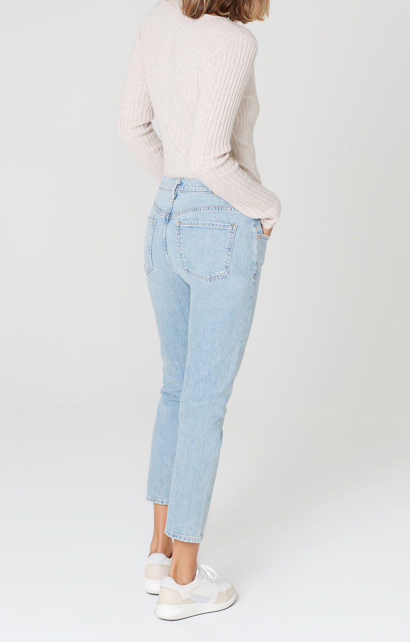 elsa mid rise slim fit crop try me back