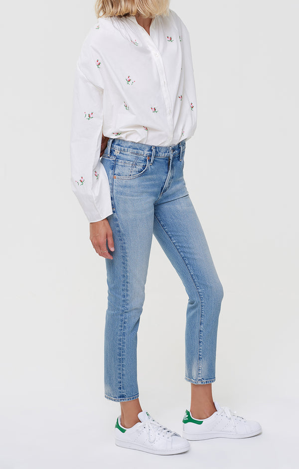 Elsa Mid Rise Slim Fit Crop Refresh side