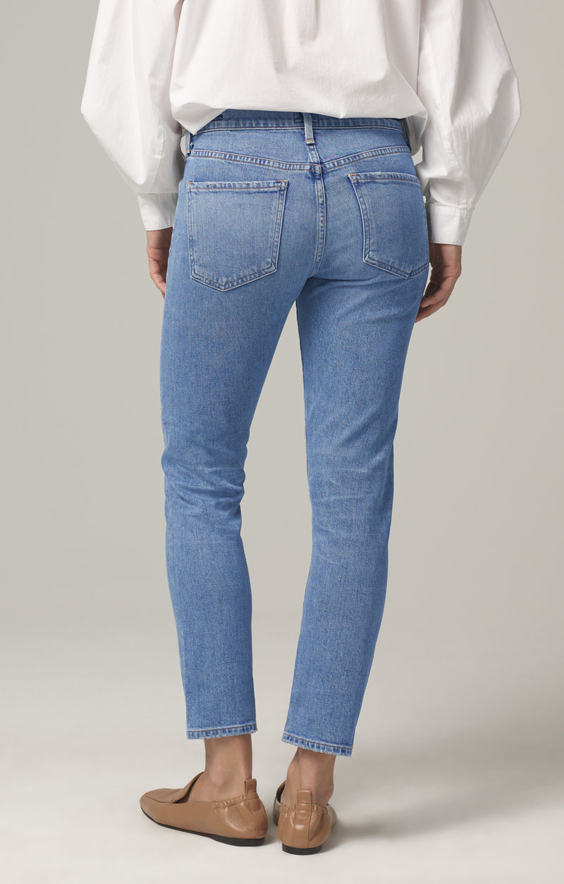 elsa mid rise slim fit crop myth back