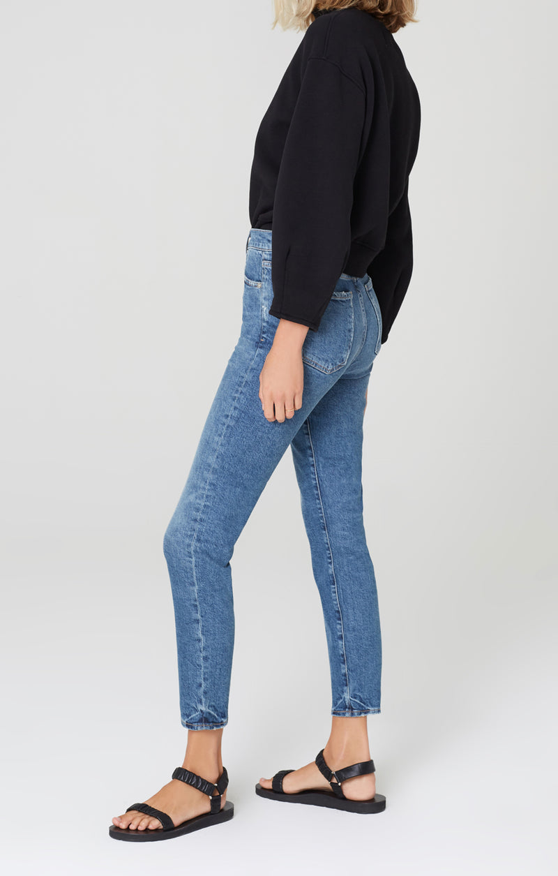 olivia high rise slim fit moments side
