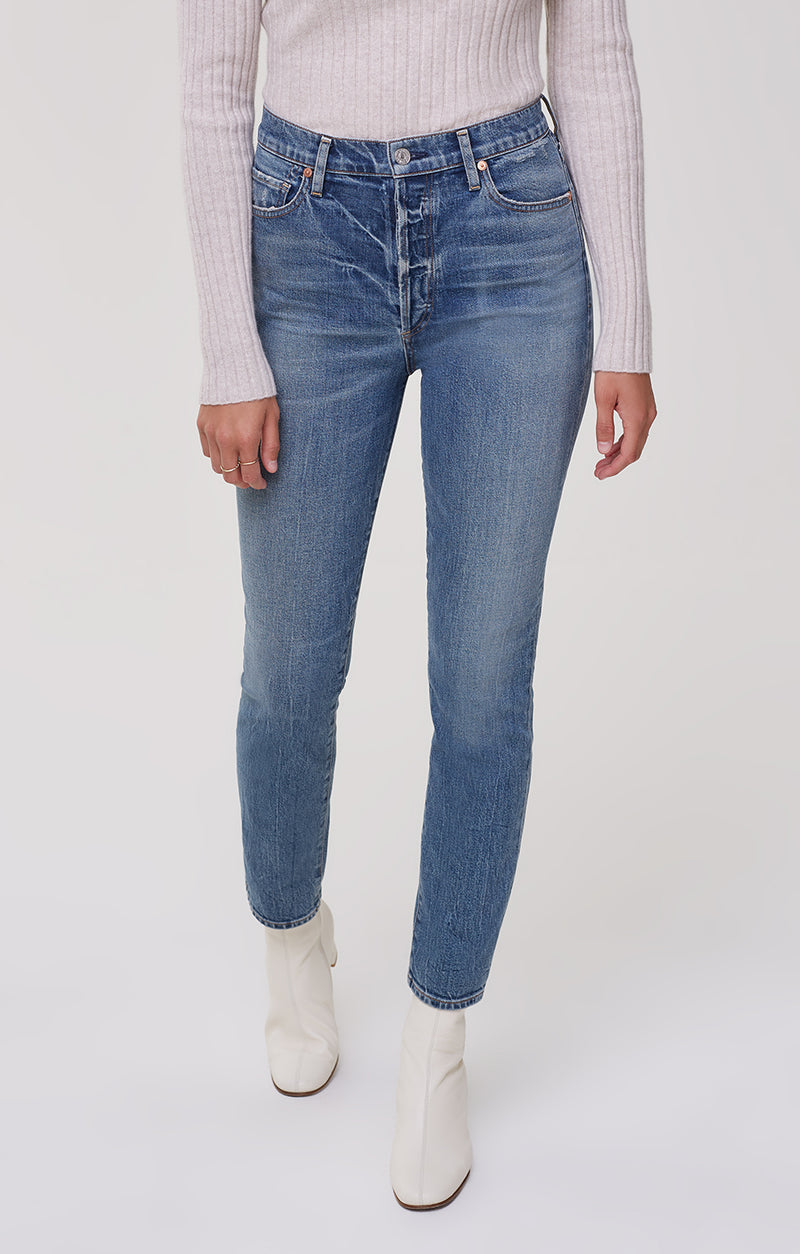 Olivia High Rise Slim Fit Tinker front