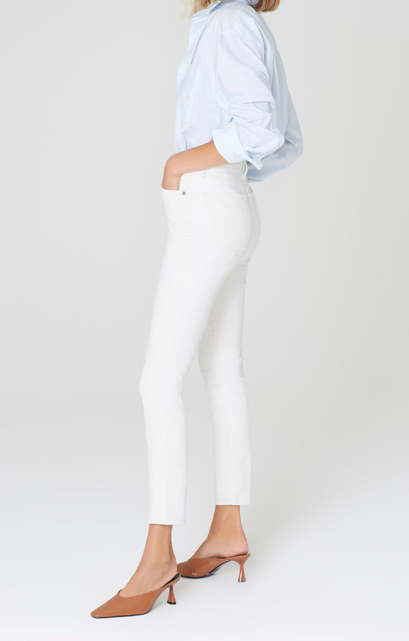 olivia high rise slim fit zen side
