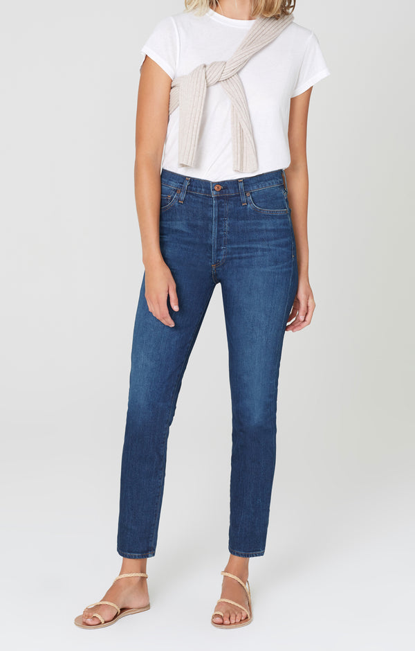 Olivia High Rise Slim Fit Mercy front