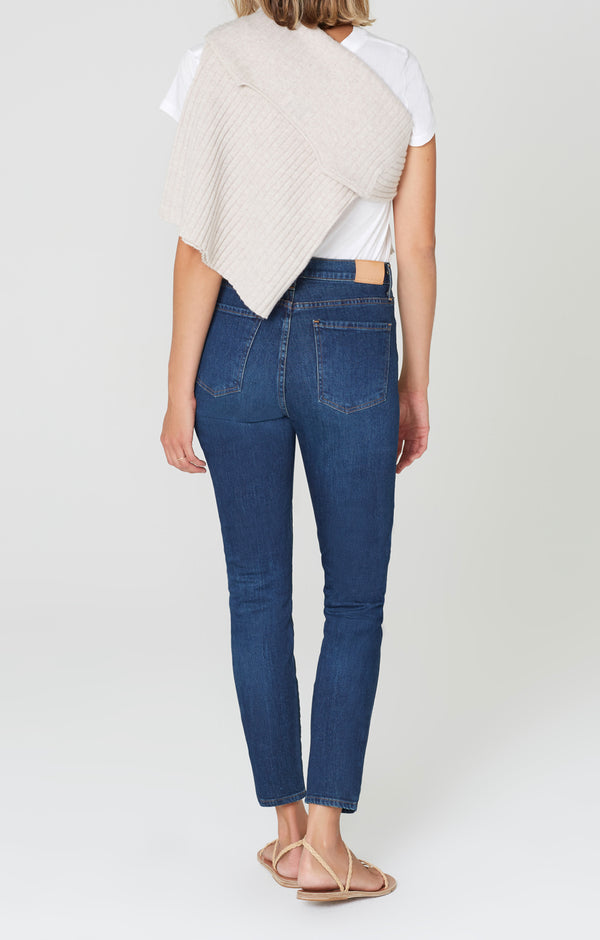 Olivia High Rise Slim Fit Mercy back