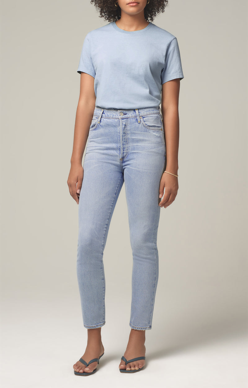 olivia high rise slim fit imagine front