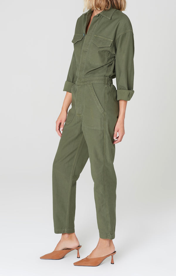 marta jumpsuit retreat side