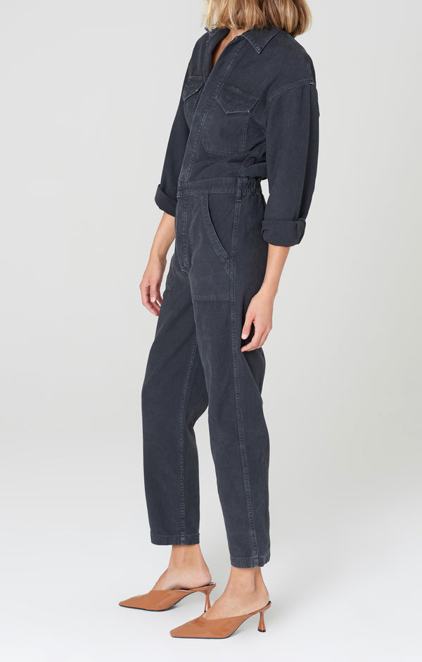 marta jumpsuit washed black side