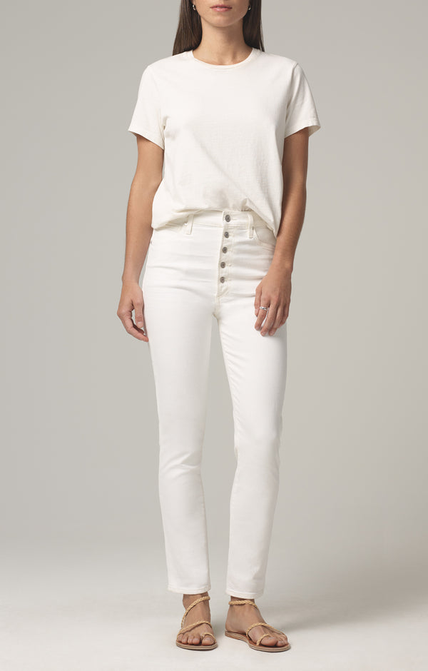 olivia high rise slim fit unveil front