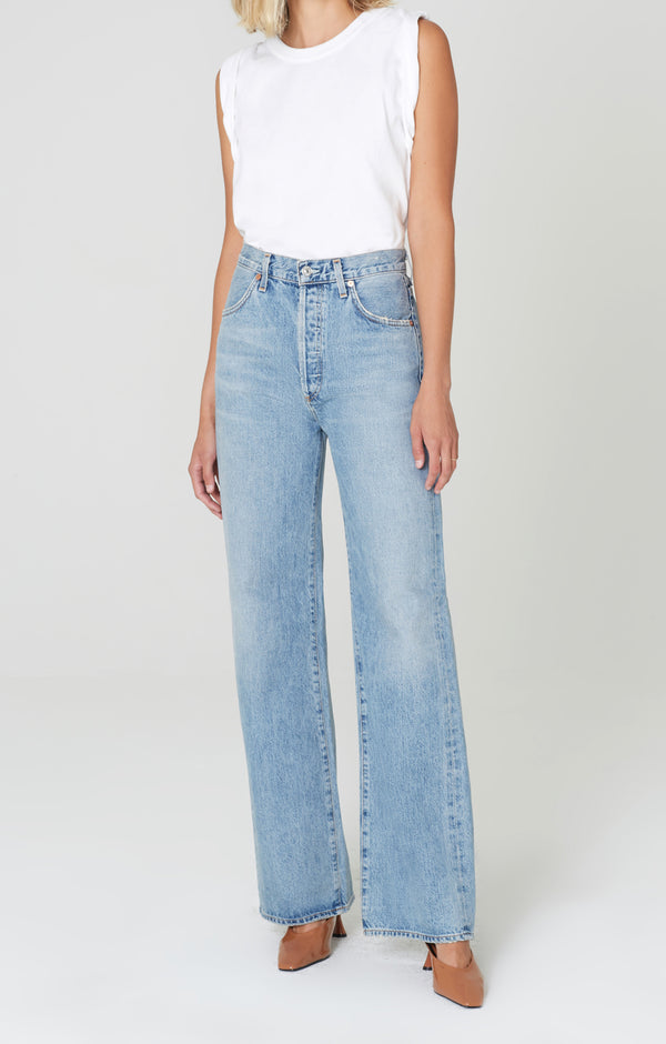 Annina Trouser Jean Blue Mirage front