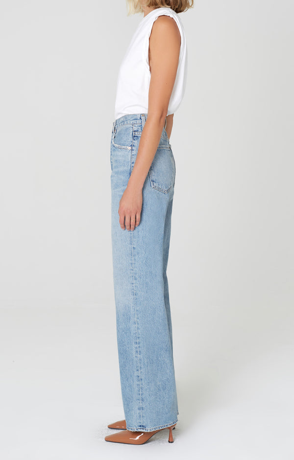 Annina Trouser Jean Blue Mirage side