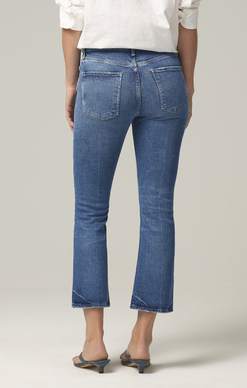 demy cropped flare denim moments back