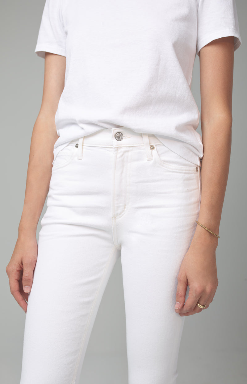 demy cropped flare unveil detail