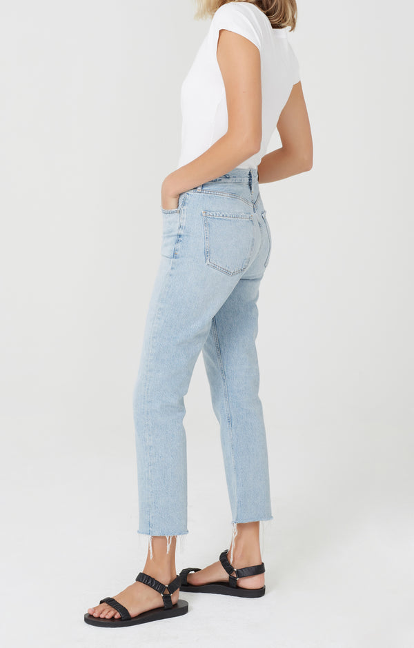 Charlotte Crop High Rise Straight Fit Ever After