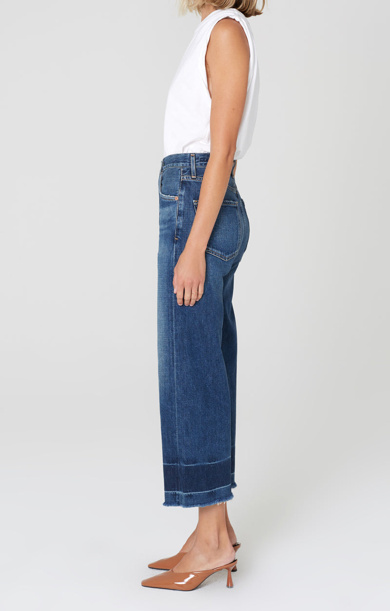 sacha high rise wide leg after all side