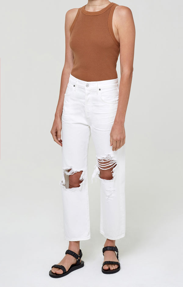 Emery Crop Relaxed Straight Alfresco