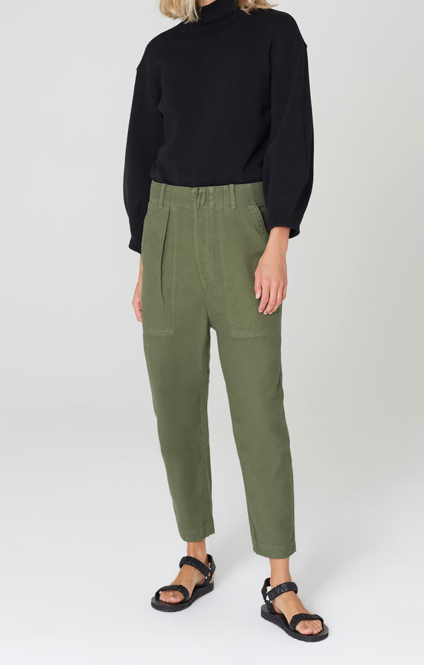 harrison tapered pant laurel front