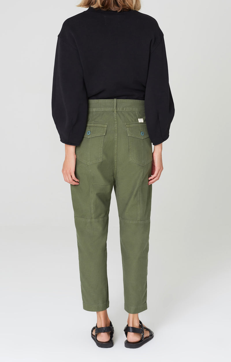 harrison tapered pant laurel back