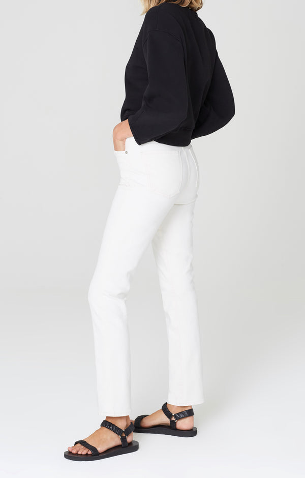 olivia long high rise slim fit zen side