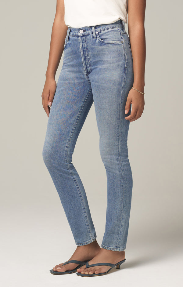 olivia long high rise slim fit so long side