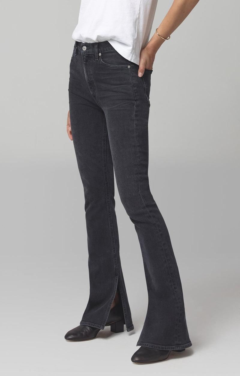 georgia high rise bootcut oblivion back