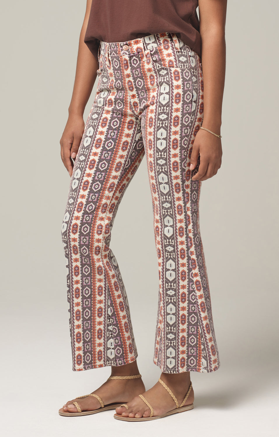 These Printed Citizens of Humanity Flares Are a Bohemian Dream