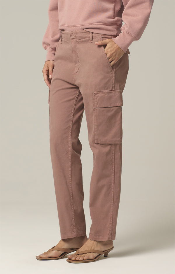 gaia pant redwood side