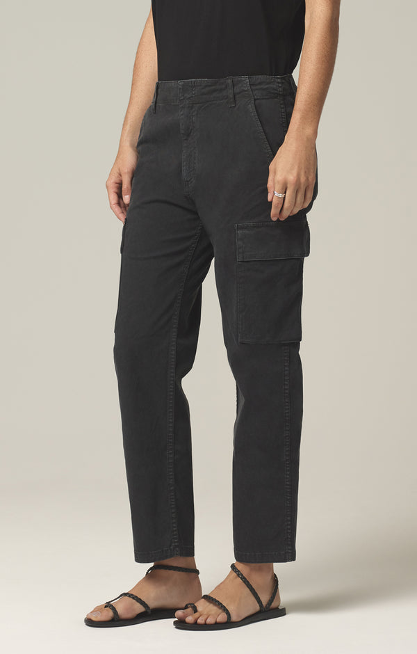 gaia pant washed black side