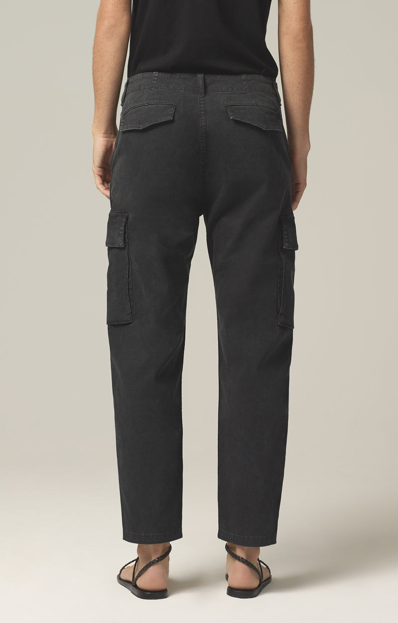 gaia pant washed black back