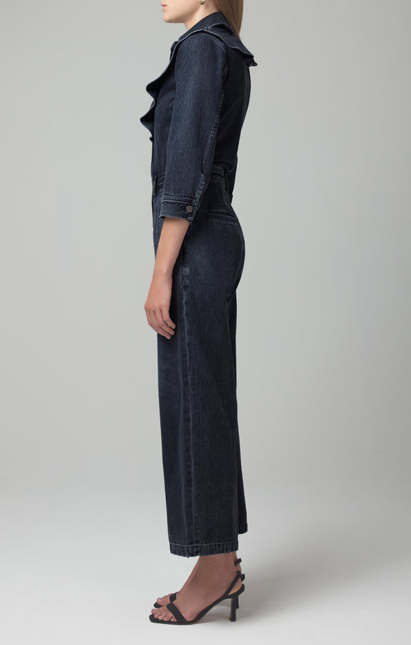 maud jumpsuit fade to black back