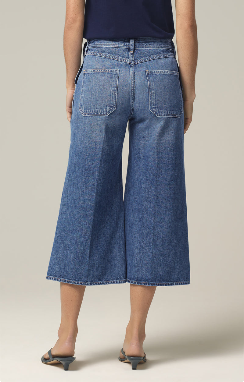 jackie side button culotte favorite back