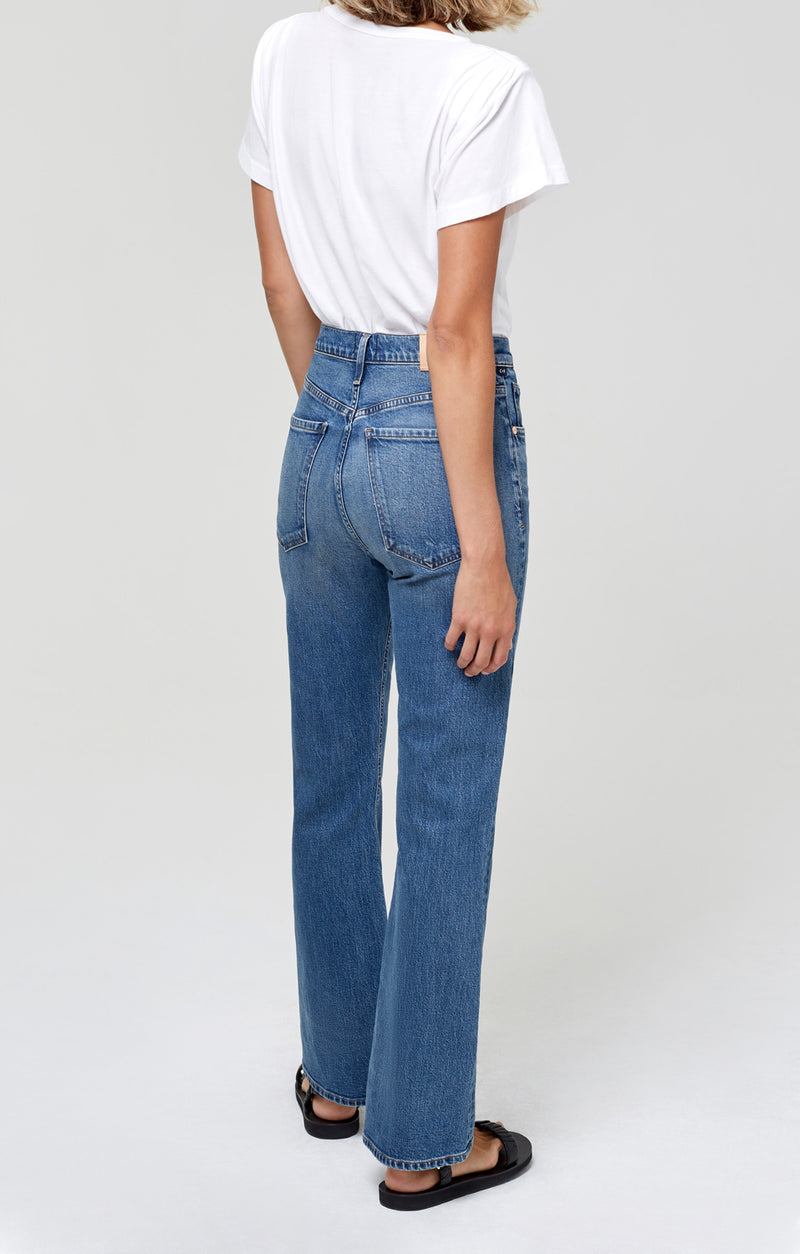 Libby Relaxed Bootcut Catalonia Back