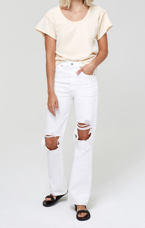 Libby Relaxed Bootcut Alfresco Front