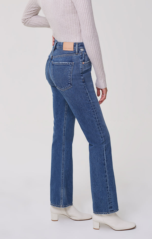 Libby Relaxed Bootcut First Class side
