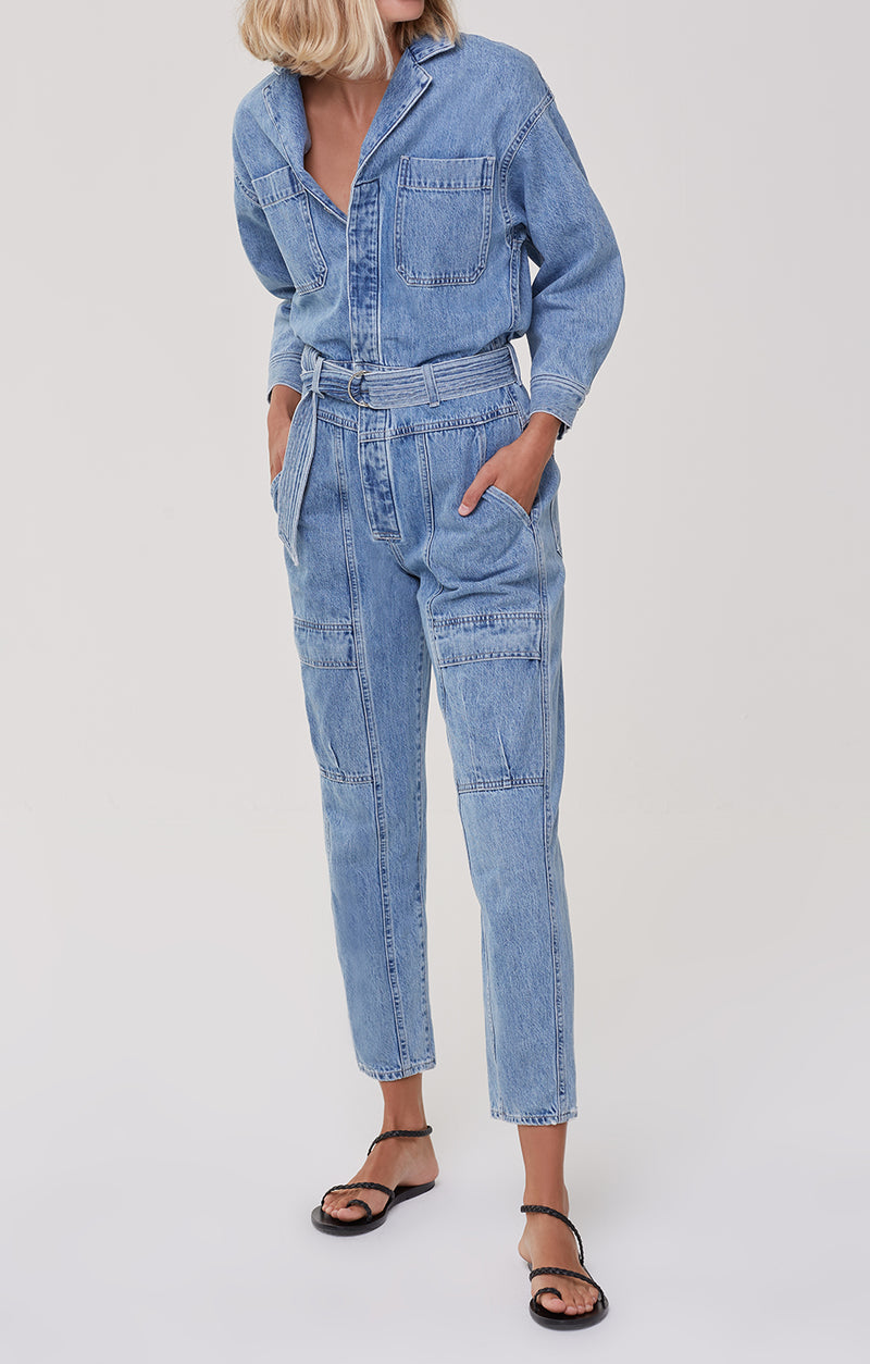 Willa Utility Jumpsuit Hold Steady front