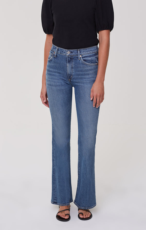 Lilah High Rise Bootcut On And On front