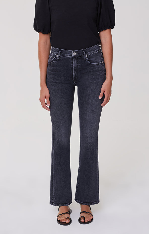 Lilah High Rise Bootcut Radiant front