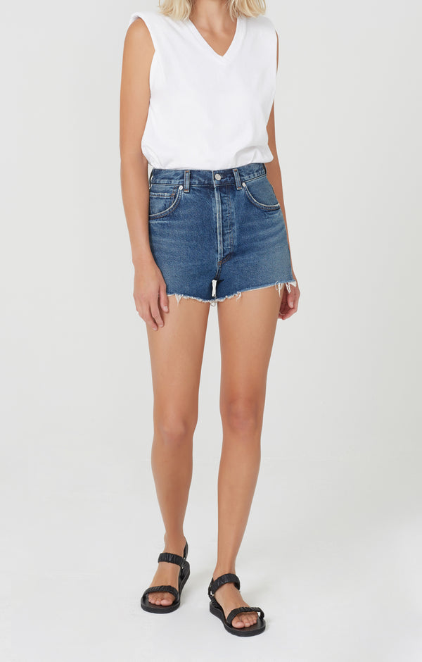 Kaia High Rise Short Veda front
