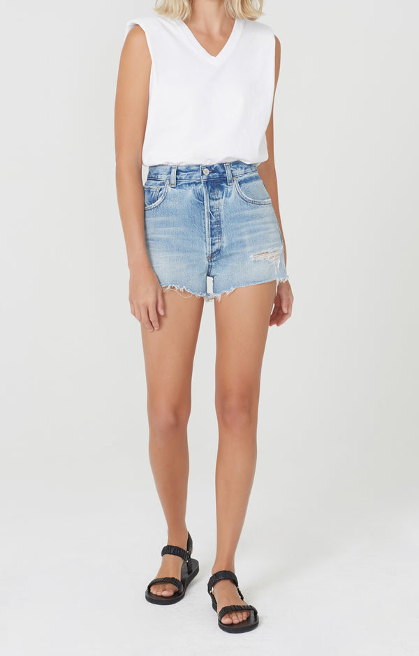Kaia High Rise Short Murmur front