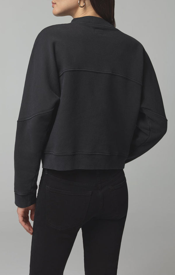 rumor v sweatshirt vintage black side