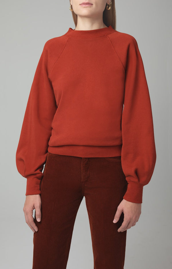 ruth sweatshirt copper back
