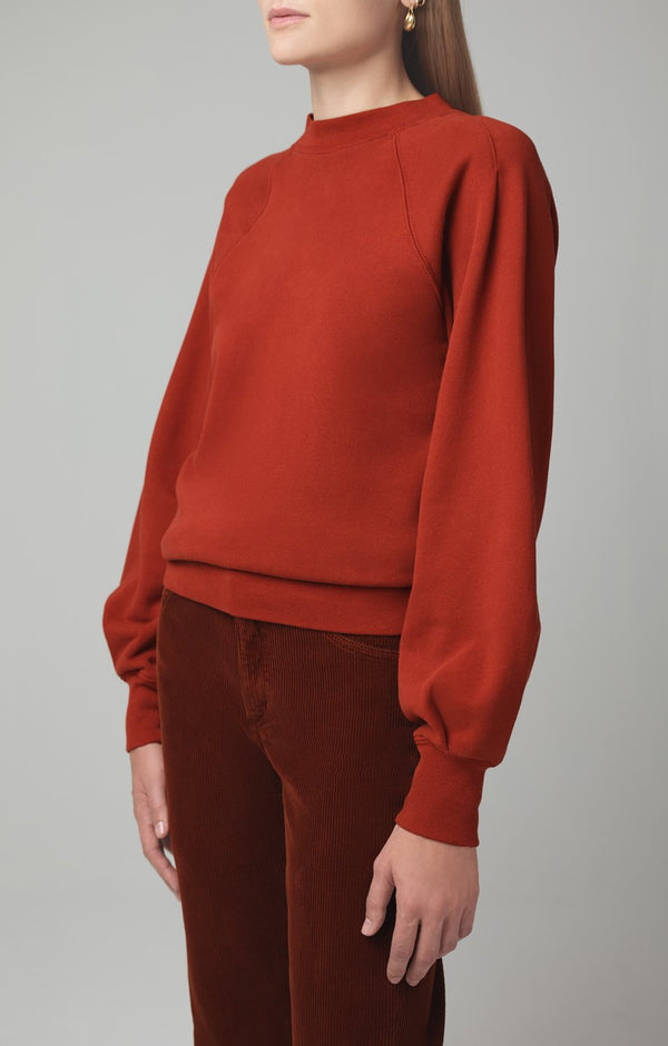 ruth sweatshirt copper side
