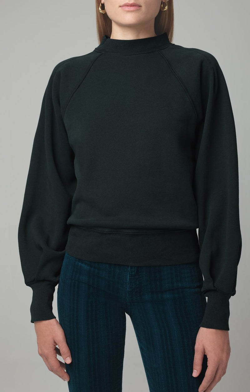 ruth sweatshirt spruce back