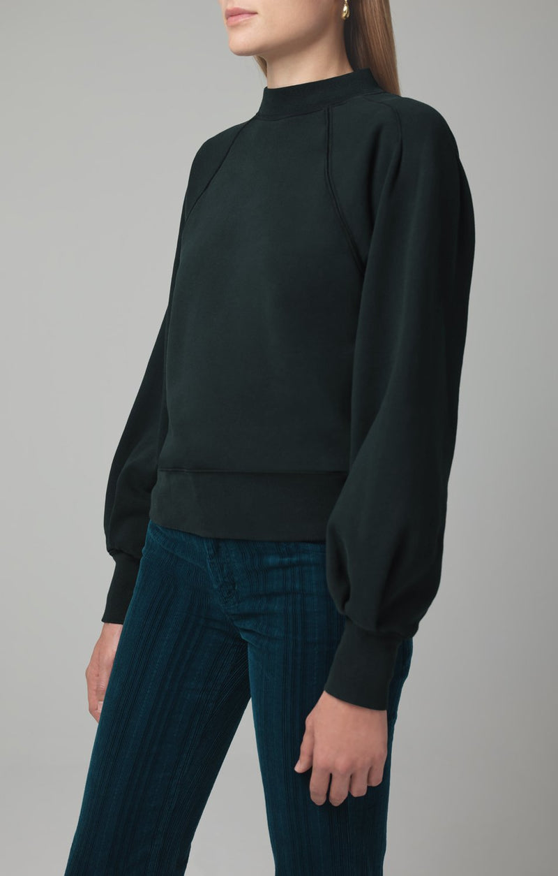 ruth sweatshirt spruce side